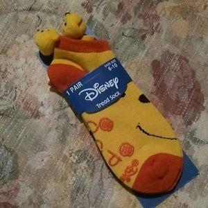 Disney Winnie the Pooh tread socks